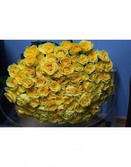 Bouquet 101 yellow roses | 101 roses,lilies expensive