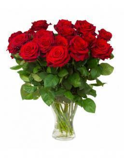 Bouquet of 15 red roses | Red flowers to colleague flowers