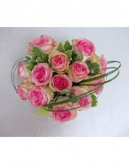 Gift Tenderness set of pink roses | Delivery and order flowers in Karaganda