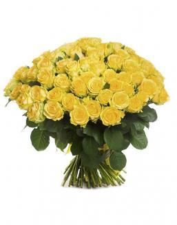 Bouquet of 101 yellow holland roses | 101 roses,lilies expensive