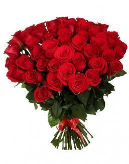 33 long red roses deluxe | Delivery and order flowers in Karaganda