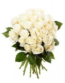 Bouquet of 33 white roses | Delivery and order flowers in Karaganda