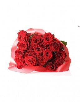 Bouquet of 21 red roses | Red flowers to colleague flowers